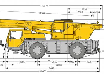 Autozeriav-LTM-1030-nakres