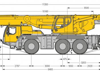 Autozeriav-LTM-1055-nakres